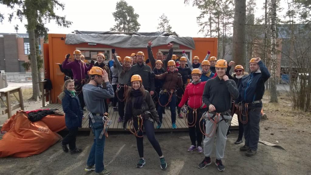 Flowpark på turne i Finland våren 2015